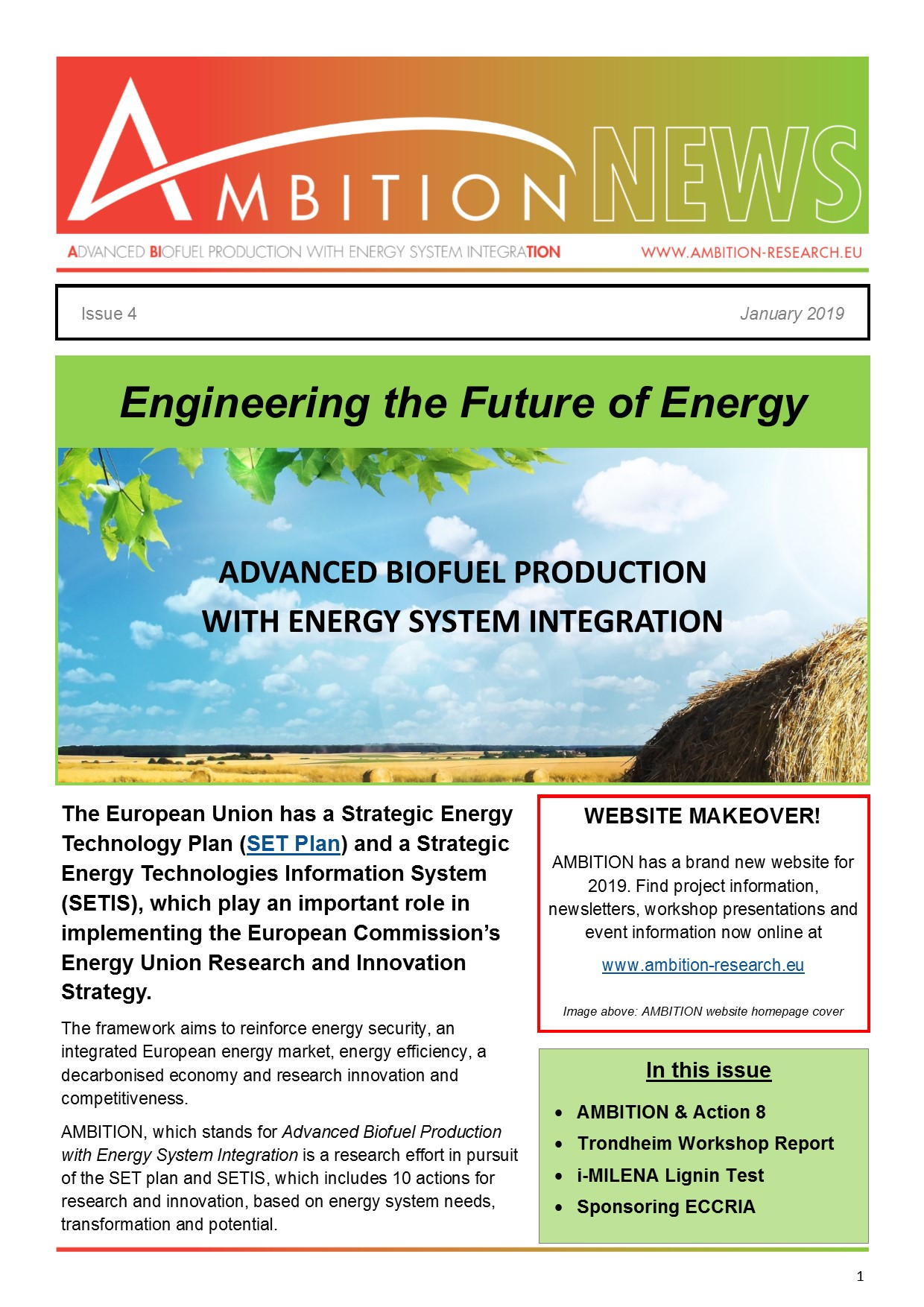 Engineering the Future of Energy - Issue 4 - Ambition Research